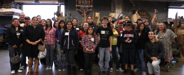 2015 LA SKINS FEST Youth Media Tour
