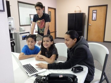 Native Youth Multimedia Workshop at Morongo TANF